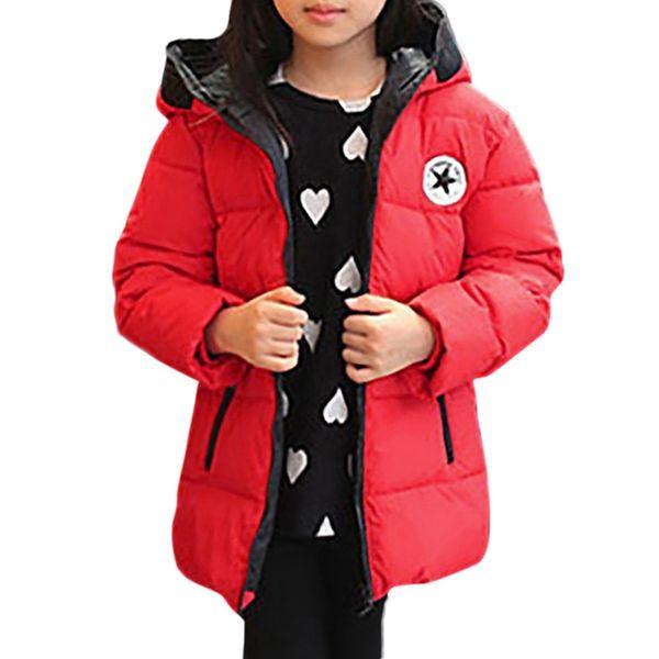 Kids Baby Girl Boys Winter Hooded Coat Cloak Jacket Thick Warm Outerwear Clothes winter jacket fashion Veste pour enfants#g9