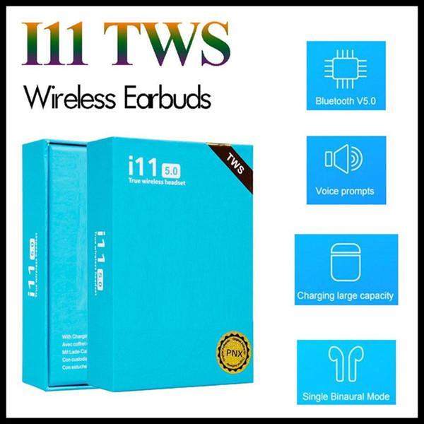 I11 tw bluetooth 5 0 wirele bluetooth headphone true tereo earphone wirele head et earbud with touch control earphone for iphone 11