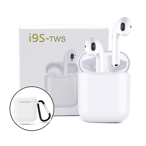 i9s tws Earbuds Mini auriculares inalámbricos Bluetooth para Android iPhone Bluetooth Headset v5.0 Auriculares con caja de carga magnética