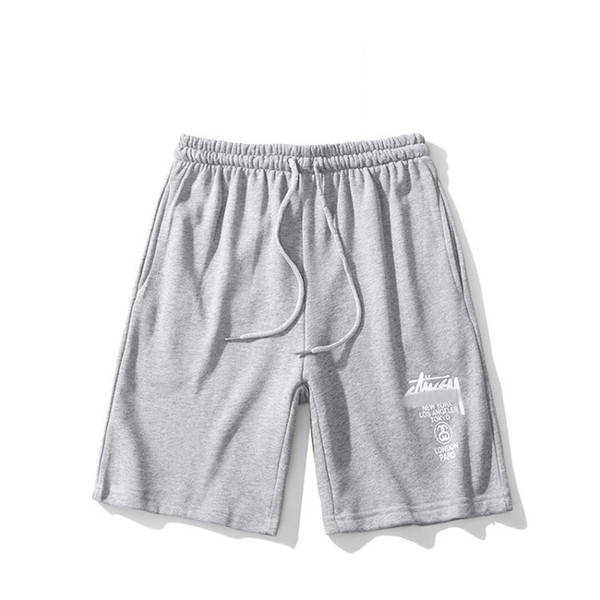 Spring and summer fashion men's brand popular casual shorts brand new listing with fine letter patterns and high quality fabrics