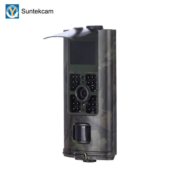 Suntekcam HC-700A Avcılık Kamera LED Fotoğraf Tuzak Trail Kamera Kızılötesi Gece Görüş Video Gözetim Vahşi 16MP Oyun Kameralar