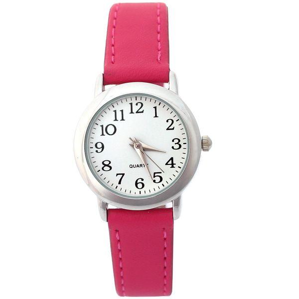 Children's Watches Fashion Brand Children Watches Girls Daily Waterproof Leather Cartoon Watch For Girls students electronic Quartz Wrist...