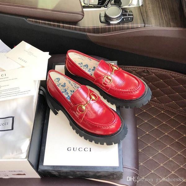 роскошные женского пчелиной вышивки одинарной обуви натуральной кожи Повседневной обувь Мода Кроссовки работают shoess с оригинальной коробкой 35-40