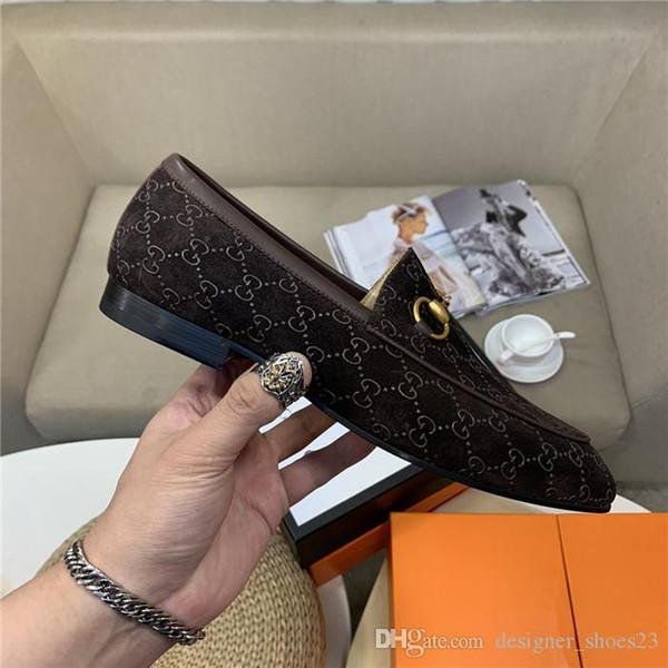Классическая повседневная модная обувь Эксклюзивная лимитированная серия Матовая воловья ткань Мужские лоферы с низкими кожаными каблуками и большими подошвами