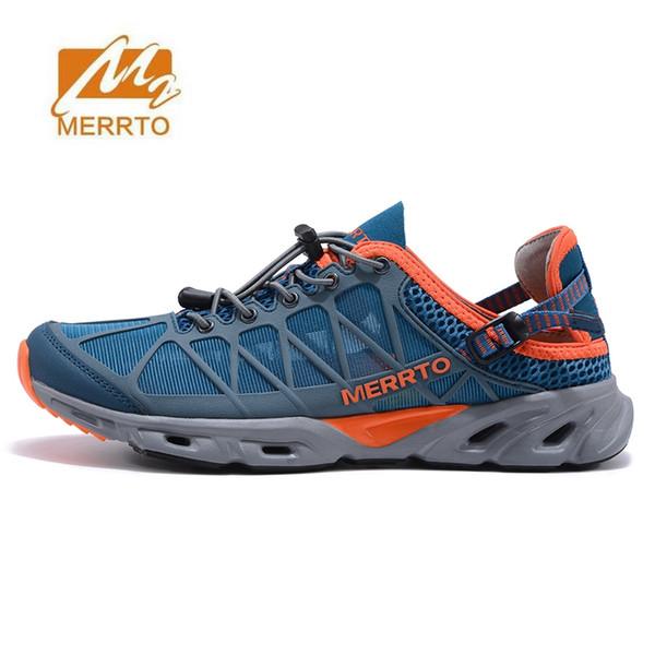 best sneakers f7b46 7eb48 Acquista MERRTO Uomo Scarpe Da Trekking Outdoor Uomo Traspirante Donna  Scarpe Da Trekking Trekking Sandali Donna Arrampicata Sandali Da Montagna #  ...