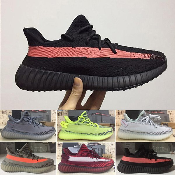 adidas supreme yeezy boost 350 Sply casual V1 Running Shoes Mujer Hombre Pirata Negro Zapatillas de deporte Oxford Tan Moon Rock Turtle Dove Kanye West Casual Fashion Runner Shoes