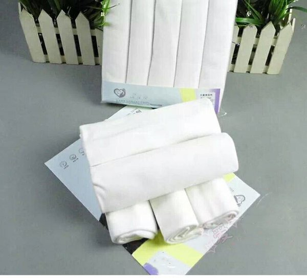 soft cotton organic wholesale reusable muslin cotton baby diaper 100%cotton soft printed and white and dye