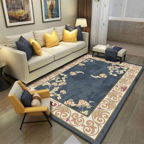 National Style Living Room Carpet Fashion Bedroom Mat Point Plastic Bottom  Carpets Home Decorative Paintings Pattern Area Rugs Carpet Sales And ...