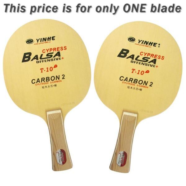 Yinhe Via Láctea Galaxy T-10 + T10 + T 10 + lâmina de ping pong ténis de mesa