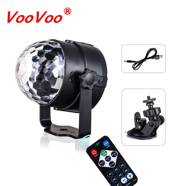 VooVoo LED Car USB Atmosphere Light DJ RGB Música colorida Lámpara de sonido Decoración automática Luces para USB Surface Disfruta Football Match