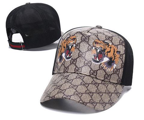 Best selling Strapback Cap Biene Tiger Wolf Männer Frauen Hüte Marke Designer Sport Outdoor G Caps Casual Hut Baseballmütze sunhat hip-hop-kappe