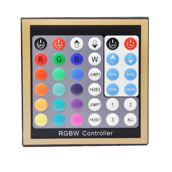Livraison Gratuite Nouveau Contrôleur de Panneau RGBW 36keys 4CH DC 12V-24V Contrôleur DMX pour bande LED