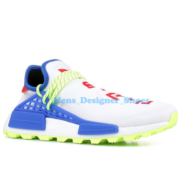 2020 PW Hu Holi Trail X Human Race Pharrell Williams Mens Running Shoes Youth Peace Creme Nerd BBC Solar Pack Womens Trainers Sports Sneakers From