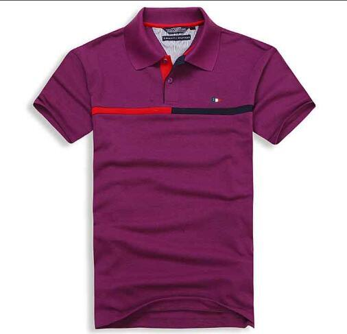 2019 mode gros drapeau américain marque sport poros hommes polo shirt 309 # hommes vêtements de plein air designer designer shirt