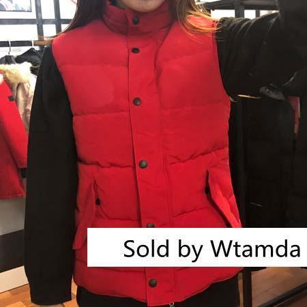 Fashion Style Winter Down Vests Classic Women Brand Designer Vest Outdoor Coat Ladies Outwear Windproof Clothes Sale