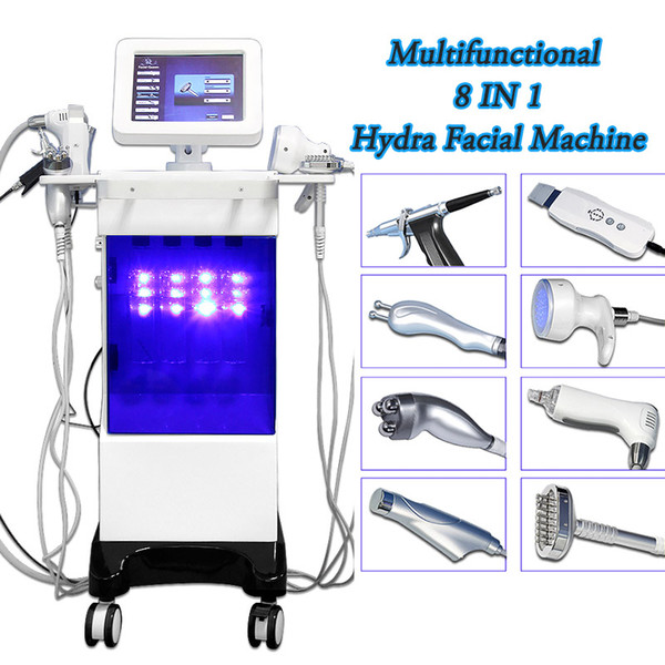 hydrafacial for sale ultrasonic facial machine dermabrasion high Frequency Facial Machine salon spa skin care Face cleansing