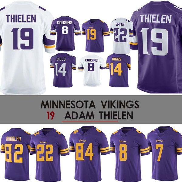 best loved 2cf81 46be6 2019 19 Adam Thielen Jersey Vikings Jersey 22 Harrison Smith 8 Kirk Cousins  Minnesota 84 Randy Moss 14 Diggs 22 Smith From Cheap_sell_jerseys, $23.5 |  ...