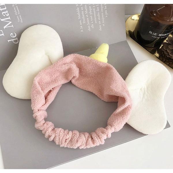 Korean dumbo face wash headband cute elephant ears children and girls high elastic hair ornaments ins hot style hair hoop