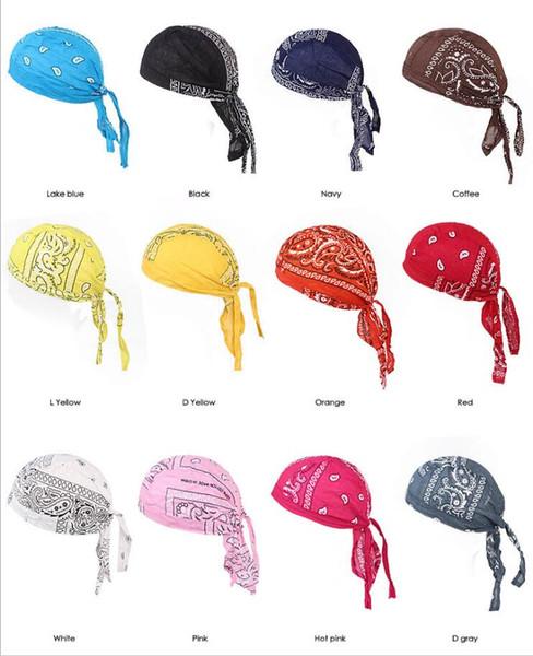 Venta caliente al aire libre ciclismo gorra pirata de algodón sombreros moda cráneo gorras para hombres y accesorios de moda de las mujeres 360 Unids
