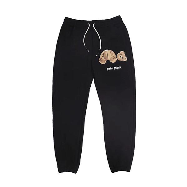 Palmiye Melekler Erkek Pantolon Hip Hop Erkekler Kadınlar Tasarımcı Koşu Spor Pantolon Yüksek Kalite Sweatpants Mens Tasarımcısı Sweatpants