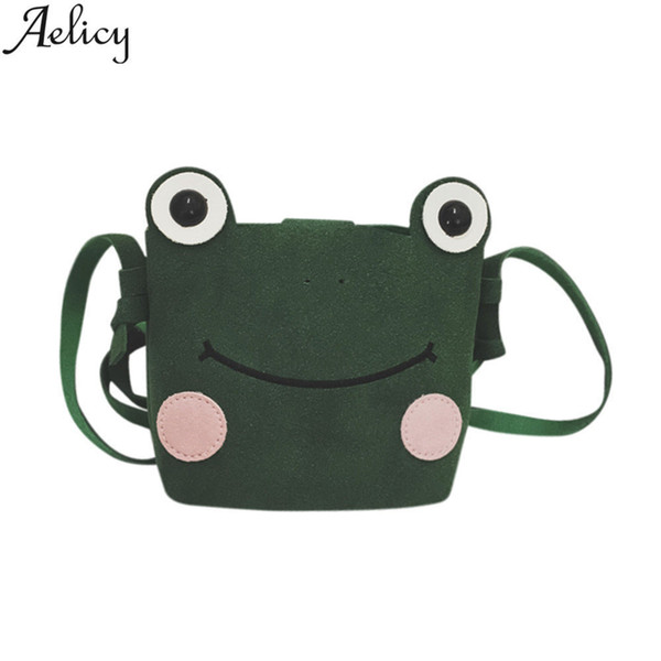 Cheap Fashion New Cartoon Clutch Women Mini Crossbody Bag Animal Printing PU Leather Female Shoulder bags for Girls Children sac a main