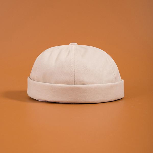 Fashion- Skullies Cap Vintage Urban Unique Street Portable Docker Hats Multipurpose Miki Beanie Hat designer hats caps men