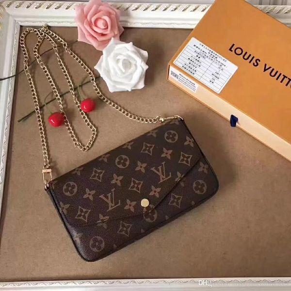 Brun noir blanc couleurs de grille de haute qualité totes sac sacs à main designer en cuir femmes sacs à dos sac à bandoulière cross body sacs M61276