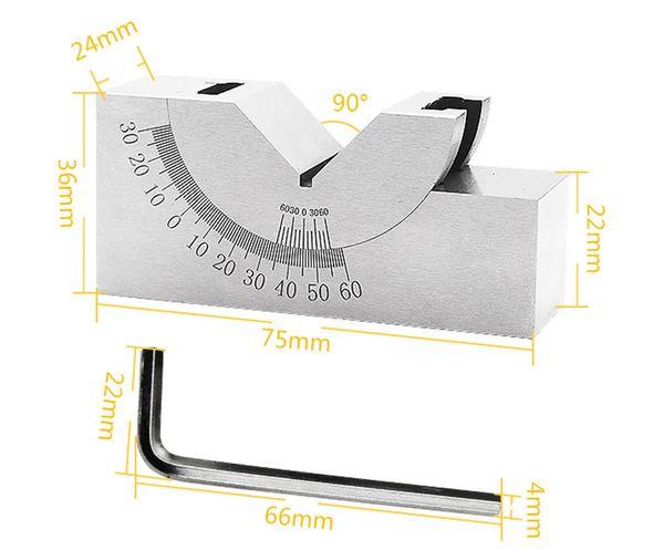 best selling High-precision adjustable angle block, adjustable angle gauge for grinding machine