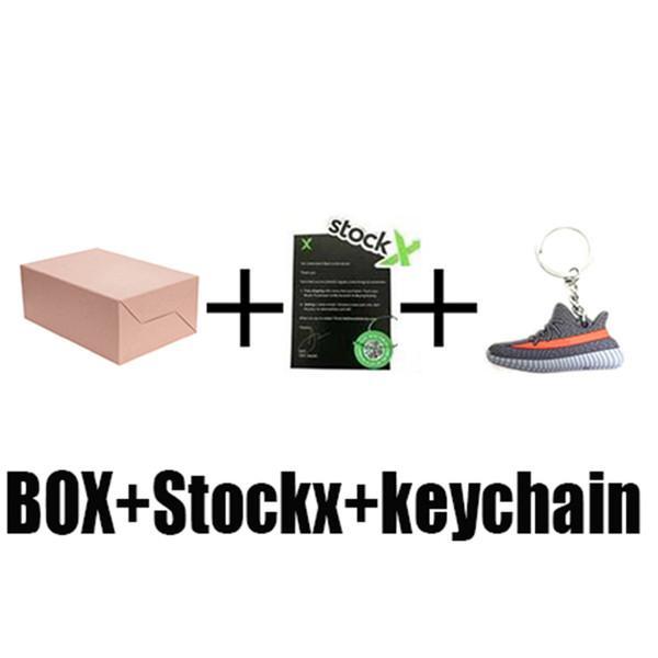 box+stock x+key chain