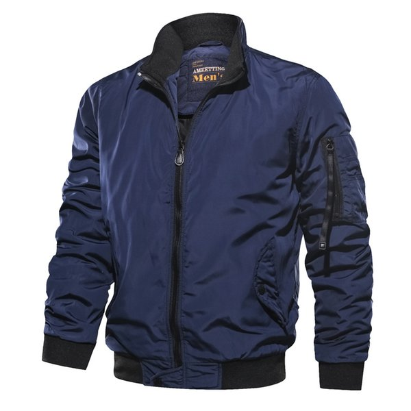 Men Army Fly Pilot Jacket Airborne Flight Tactical Bomber Jacket Men Autumn Winter Motorcycle Outwear