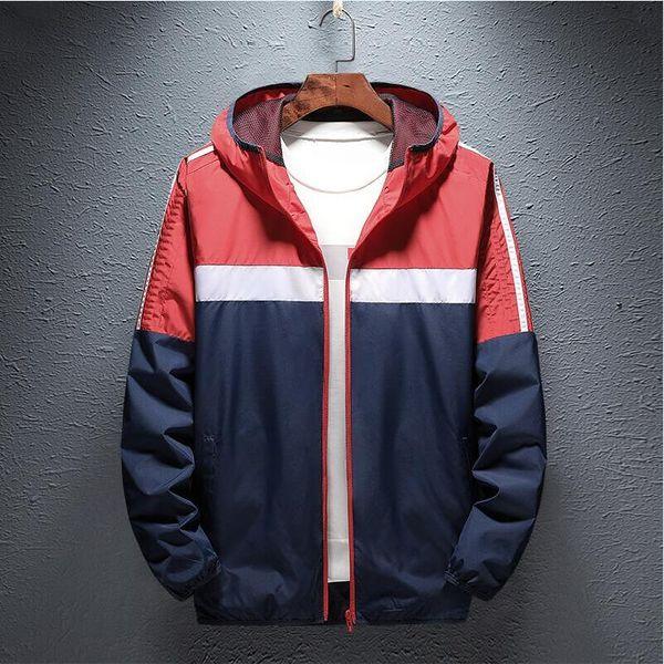 mens diseñador de la marca windcoat sudaderas famosos hombres chaqueta de primavera Hip Hop Deporte Chaqueta rompevientos impermeable al aire libre capa de los hombres de tendencia Marca