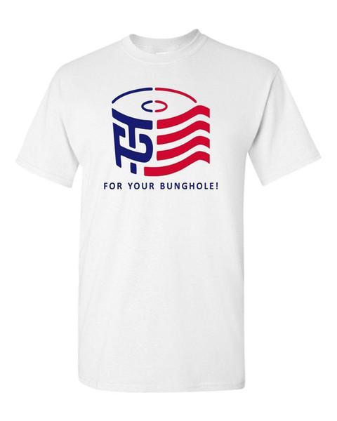 Trump Pence Logo TP Toilet Paper For Your Binghole Men's Tee Shirt 1491