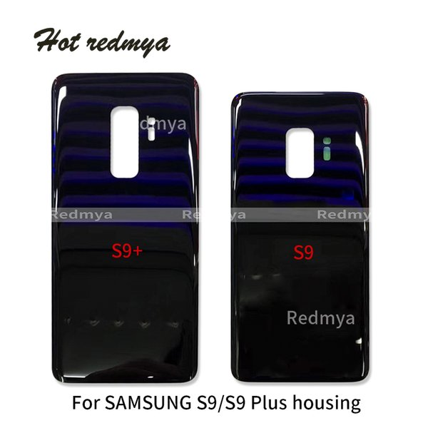 Housing For Samsung Galaxy S9 G960 Battery Cover Back Housing Full Back Cover Door Rear Case Replacement Parts Without Camera Lens