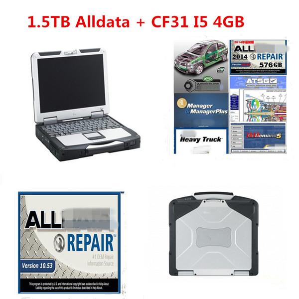 2019 Alldata Repair Versão instalada todos os dados 10.53 Mitchell on Demand Software Auto 1.5TB Disco Rígido Panasonic CF31 Instalado