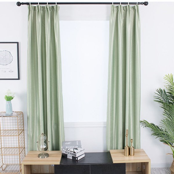 2019 Modern Style Polyester Thermal Insulated Curtains Blackout Curtain  Drape Solid Color Curtains Living Room Window Treatment BS From Oopp,  $40.74 | ...