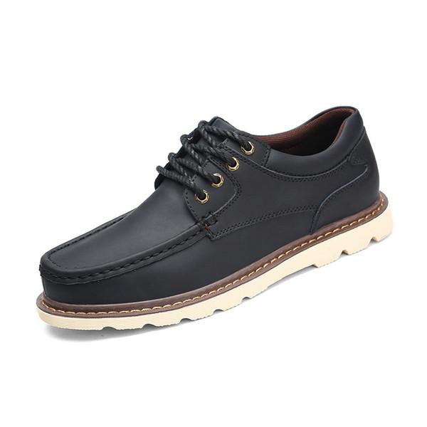 Noir Printemps Automne Taille 54 47 38 À Hommes Acheter Chaussures Oxfords De43 Designer Homme En Grande Marron Café Casual Marque Lacets Cuir Pour XZkuTOPi