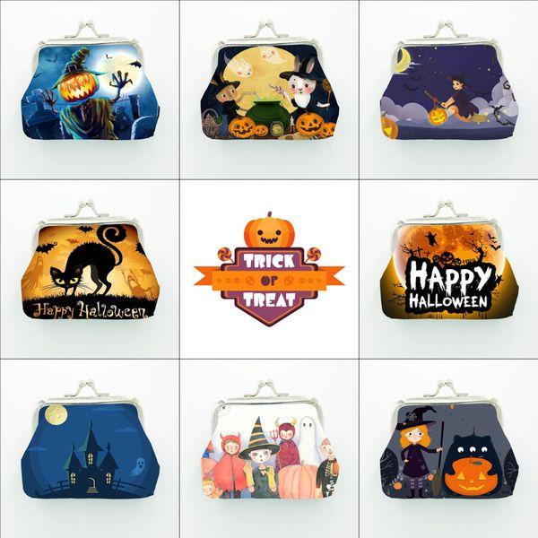 Großhandel 2019 Die Neuen Kinder Halloween Münzen Geldbeutel Beutel Kürbislaterne Brieftasche Kinder Nette Persönlichkeit Geldbeutel Für Kind Geschenk
