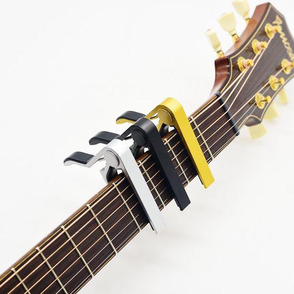 1 ПК Brand New Quick Change Key Clamp Acoustic Классическая гитара Капо для Tone Регулировка для электрических акустической гитары укулеле CAP-2