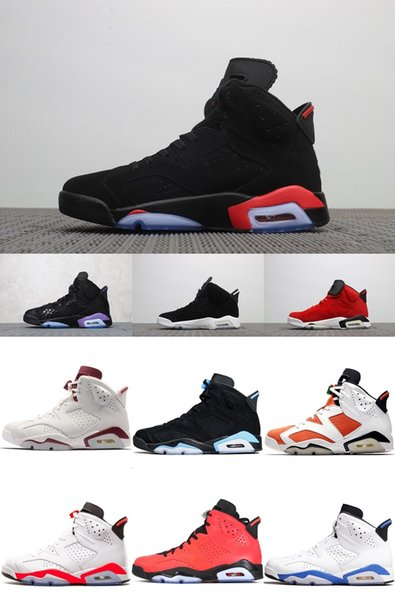 new 6 VI INFRARED 2019 RELEASE men basketball shoes 6s SP SOCIAL STATUS infrared Wheat Alternate91 GS Heiress Maroon sports sneakers
