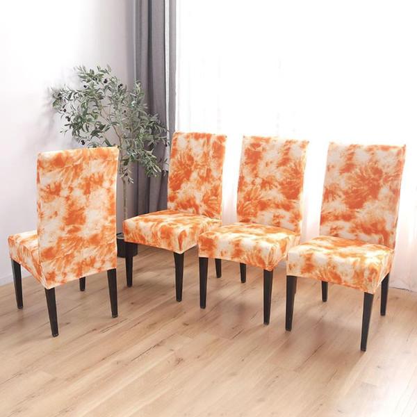 Swell Removable Seat Slipcover Graffiti Pattern Thin Stretch Chair Cover Orange Stretch Chair Cover Tie Dye Craft Graffiti Pattern Card Table Chair Covers Creativecarmelina Interior Chair Design Creativecarmelinacom