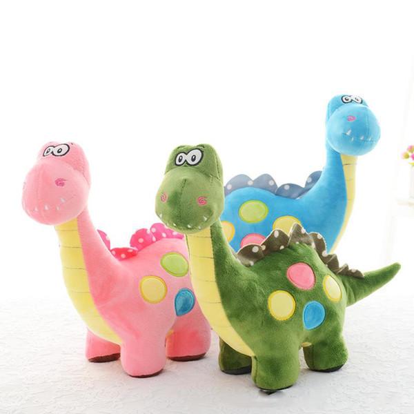 35 cm Dinosaurier Kuscheltier Plüschtier Sachen Dinosaurier Puppe Spielzeug Schöne Weihnachten Geburtstagsgeschenk 3 Farben