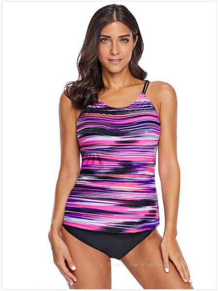 97b72e0802 Hot Bikini CUPSHE Solid Low Back One-piece Swimsuit Women Burgundy Deep U  neck Monokini 2019 Girl Beach Padded Bathing Suit Swimwear