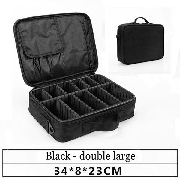 black small 2 layer