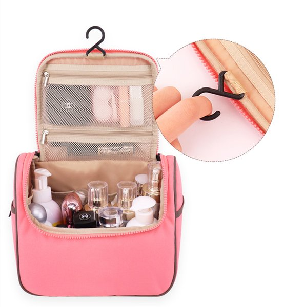 Fashion Lovely Woman Cosmetic box beautiful cosmetic bag for business trip factory wholesale