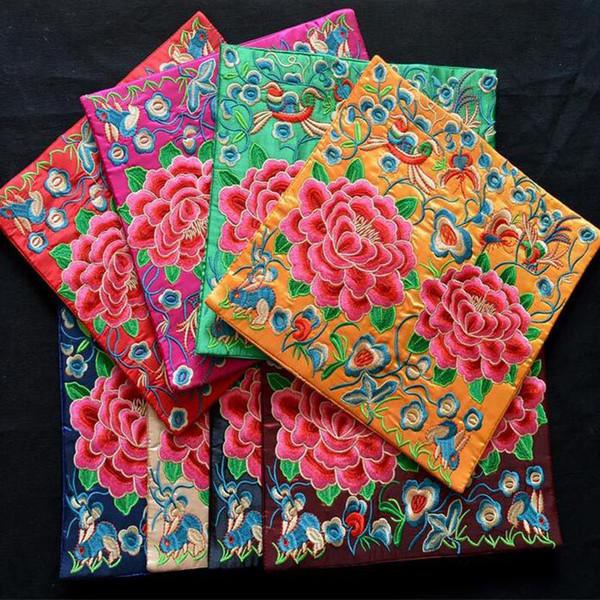 Vintage broderie fleur set de table coaster bol manique cadeau chinois traditionnel décoration de table décoration tapis expédition rapide ZC0407