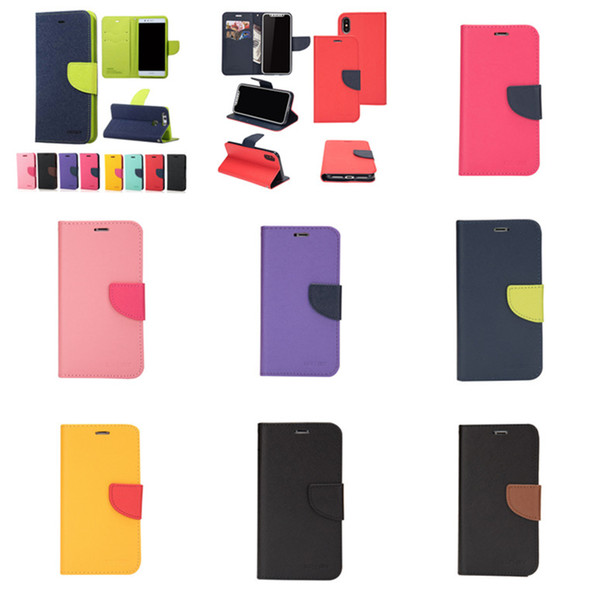 Retro ID Credit Card Slot Photo Frame Flip Stand Leather Phone Case Wallet Protective Covers For Samsung S7 Edge S8 S9 S10 Plus Note 8 9
