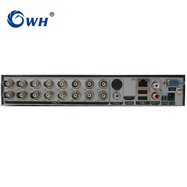 CWH Видеонаблюдение 16CH 5in1 Цифровой видеорегистратор CCTV DVR для поддержки домашней безопасности 16 ТБ SATA HDD 1080 Видео выход H.264 DVR