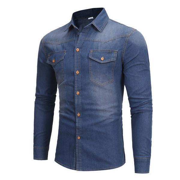 Jeans shirt men