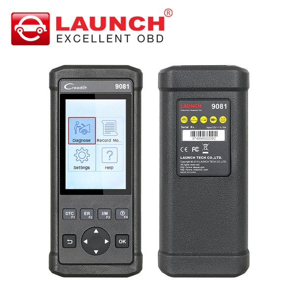 LAUNCH Creader 9081 scanner code reader Meet all OBDII/EOBD protocols CR9081 Car diagnostic tool with 11 reset functions