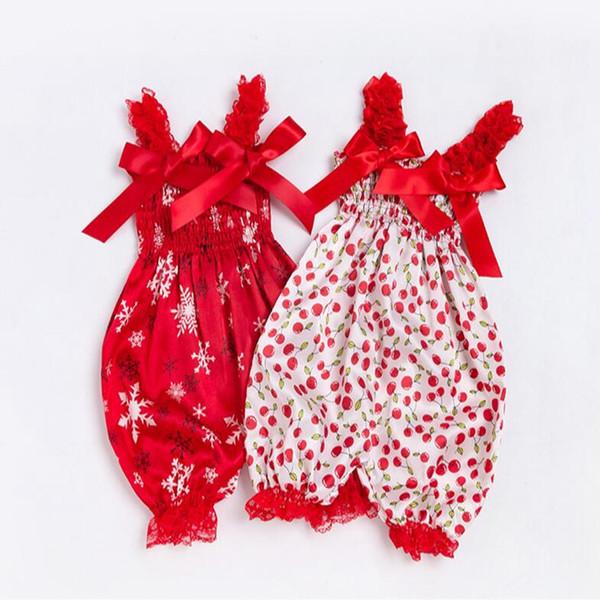 6 estilos Nuevo estilo del bebé niña arco niños imprimir mameluco diadema 2 unids / lote de una pieza pantalones harén de calidad superior